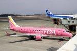 Shin-chanさんが、熊本空港で撮影したフジドリームエアラインズ ERJ-170-200 (ERJ-175STD)の航空フォト(写真)