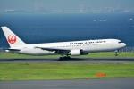 OKさんが、羽田空港で撮影した日本航空 767-346の航空フォト(写真)