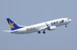 SKYLINEさんが、羽田空港で撮影したスカイマーク 737-86Nの航空フォト(写真)