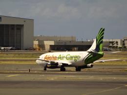 宝馬さんが、ダニエル・K・イノウエ国際空港で撮影したアロハ・エア・カーゴ 737-2X6C/Advの航空フォト(飛行機 写真・画像)