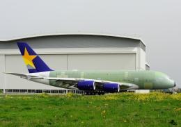 じーく。さんが、トゥールーズ・ブラニャック空港で撮影したスカイマーク A380-841の航空フォト(飛行機 写真・画像)