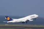 JA8957-JA8956さんが、羽田空港で撮影したルフトハンザドイツ航空 747-430の航空フォト(写真)