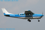 Chofu Spotter Ariaさんが、調布飛行場で撮影した共立航空撮影 T207 Turbo Skywagon 207の航空フォト(飛行機 写真・画像)
