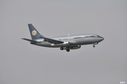 妄想竹さんが、成田国際空港で撮影したスカイ・アヴィエーション 737-2W8/Advの航空フォト(飛行機 写真・画像)