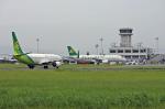 佐賀空港 - Ariake Saga Airport [HSG/RJFS]で撮影された春秋航空日本 - Spring Airlines Japan [IJ/SJO]の航空機写真
