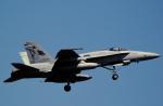 チャーリーマイクさんが、厚木飛行場で撮影したアメリカ海軍 F/A-18A Hornetの航空フォト(写真)