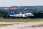 jombohさんが、ミュンヘン・フランツヨーゼフシュトラウス空港で撮影した全日空 787-8 Dreamlinerの航空フォト(飛行機 写真・画像)