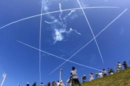 ふらっぺろんさんが、千歳基地で撮影した航空自衛隊 T-4の航空フォト(写真)