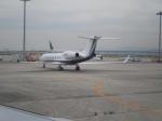 uhfxさんが、関西国際空港で撮影したウェルズ・ファーゴ・バンク・ノースウェスト G-V-SP Gulfstream G500の航空フォト(飛行機 写真・画像)