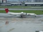uhfxさんが、福岡空港で撮影した日本エアコミューター DHC-8-402Q Dash 8の航空フォト(飛行機 写真・画像)