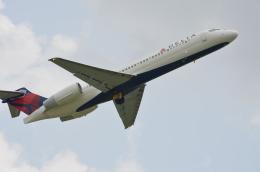 brasovさんが、ウィリアム・P・ホビー空港で撮影したデルタ航空 717-231の航空フォト(飛行機 写真・画像)