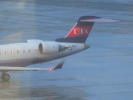 uhfxさんが、福岡空港で撮影したアイベックスエアラインズ CL-600-2C10 Regional Jet CRJ-702の航空フォト(飛行機 写真・画像)