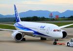 ふじいあきらさんが、広島空港で撮影したボーイング 787-8 Dreamlinerの航空フォト(写真)