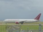 わたくんさんが、岩国空港で撮影したオムニエアインターナショナル 767-319/ERの航空フォト(写真)