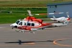 Dojalanaさんが、札幌飛行場で撮影した北海道防災航空隊 412EPの航空フォト(飛行機 写真・画像)