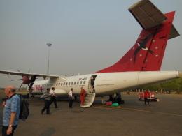 wiwiさんが、ニャウンウー空港で撮影したアジアン・ウィングス ATR-72-500 (ATR-72-212A)の航空フォト(飛行機 写真・画像)