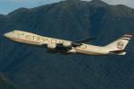 香港国際空港 - Hong Kong International Airport [HKG/VHHH]で撮影されたエティハド航空 - Etihad Airways [EY/ETD]の航空機写真