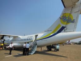 wiwiさんが、ヘホ空港で撮影したエア KBZ ATR-72-500 (ATR-72-212A)の航空フォト(飛行機 写真・画像)