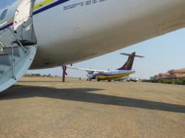 wiwiさんが、ヘホ空港で撮影したマンダレー航空 ATR-72-212の航空フォト(飛行機 写真・画像)