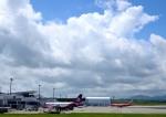 mojioさんが、静岡空港で撮影したフンヌ・エアー A319-112の航空フォト(飛行機 写真・画像)