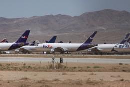 しかばねさんが、サザンカリフォルニアロジステクス空港で撮影したフェデックス・エクスプレス A310-203(F)の航空フォト(飛行機 写真・画像)