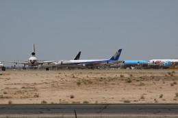 しかばねさんが、サザンカリフォルニアロジステクス空港で撮影した全日空 767-381の航空フォト(飛行機 写真・画像)