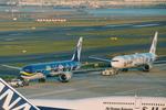 SKYLINEさんが、羽田空港で撮影した全日空 767-381の航空フォト(写真)