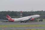 ANA744Foreverさんが、成田国際空港で撮影したヴァージン・アトランティック航空 A340-642Xの航空フォト(写真)