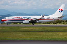 けんけんさんが、静岡空港で撮影した中国東方航空 737-89Pの航空フォト(飛行機 写真・画像)