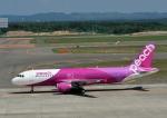 じーく。さんが、新千歳空港で撮影したピーチ A320-214の航空フォト(写真)