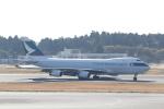 ANA744Foreverさんが、成田国際空港で撮影したキャセイパシフィック航空 747-467F/SCDの航空フォト(写真)
