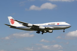 utarou on NRTさんが、成田国際空港で撮影した中国国際航空 747-4J6の航空フォト(飛行機 写真・画像)