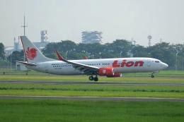 Cimarronさんが、ジュアンダ国際空港で撮影したライオン・エア 737-8GPの航空フォト(飛行機 写真・画像)