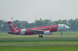 Cimarronさんが、ジュアンダ国際空港で撮影したインドネシア・エアアジア A320-216の航空フォト(飛行機 写真・画像)