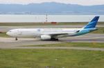 uhfxさんが、関西国際空港で撮影したガルーダ・インドネシア航空 A330-341の航空フォト(飛行機 写真・画像)