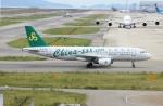 uhfxさんが、関西国際空港で撮影した春秋航空 A320-214の航空フォト(飛行機 写真・画像)