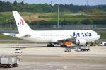 Kuuさんが、成田国際空港で撮影したジェット・アジア・エアウェイズ 767-2J6/ERの航空フォト(飛行機 写真・画像)