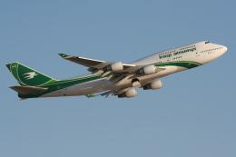 NIKEさんが、クィーンアリア国際空港で撮影したイラク航空 747-4H6の航空フォト(飛行機 写真・画像)