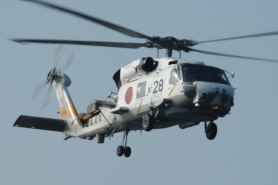 santaさんの海上自衛隊 Mitsubishi SH-60J (8228) 航空フォト