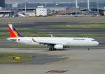 じーく。さんが、羽田空港で撮影したフィリピン航空 A321-231の航空フォト(飛行機 写真・画像)