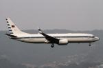 JPN Spotterさんが、台北松山空港で撮影した中華民国空軍 737-8ARの航空フォト(飛行機 写真・画像)