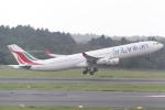 ANA744Foreverさんが、成田国際空港で撮影したスリランカ航空 A340-313Xの航空フォト(写真)
