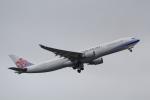 ANA744Foreverさんが、成田国際空港で撮影したチャイナエアライン A330-302の航空フォト(写真)