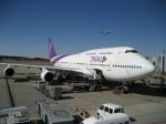 ハピネスさんが、成田国際空港で撮影したタイ国際航空 747-2D7Bの航空フォト(飛行機 写真・画像)