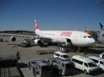 ハピネスさんが、成田国際空港で撮影したスイスインターナショナルエアラインズ A340-313の航空フォト(飛行機 写真・画像)