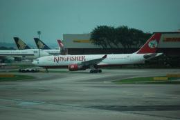 raiing727さんが、シンガポール・チャンギ国際空港で撮影したキングフィッシャー航空 A330-223の航空フォト(飛行機 写真・画像)