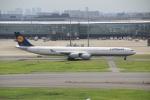 White_Maneさんが、羽田空港で撮影したルフトハンザドイツ航空 A340-642Xの航空フォト(飛行機 写真・画像)