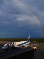 sky77さんが、山口宇部空港で撮影した全日空 767-381/ERの航空フォト(写真)