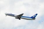 小鉢さんが、中部国際空港で撮影した全日空 767-381の航空フォト(飛行機 写真・画像)