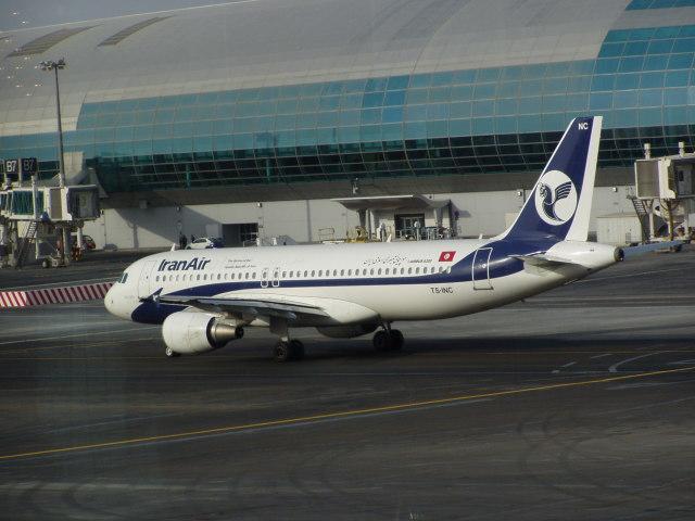 イラン航空 航空フォト(飛行機 写真・画像) ドバイ国際空港 撮影日 ...